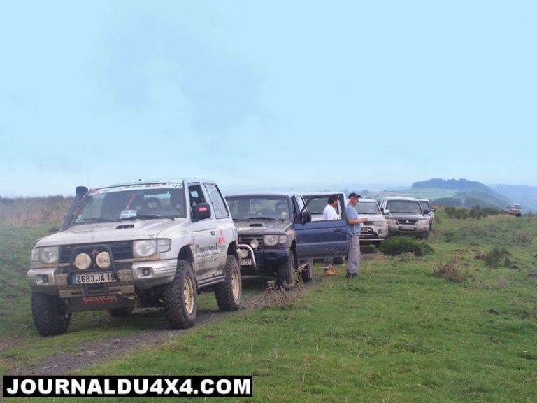 Week end Pajero club de France 2011