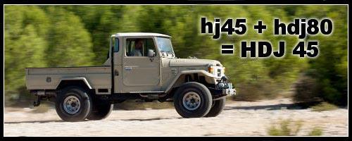 Toyota hj45 + hdj 80 : un hybride chez Dream Team Car