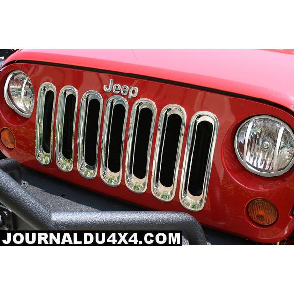 enjoliveur de calandre jeep JK