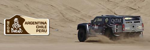 Vidéo Dakar 2012