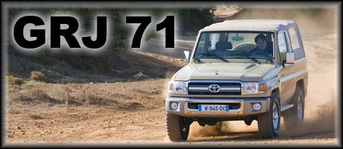 GRJ 71 un toyota d'exception à moteur V6