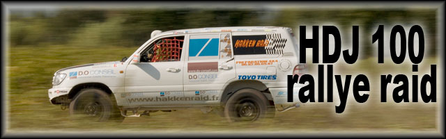 Toyota HDJ 100 Course Hakken Raid