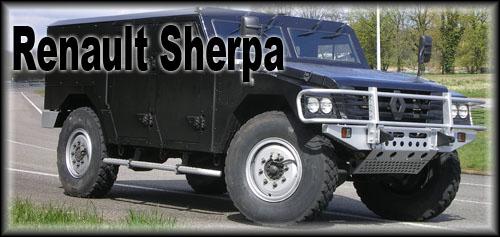 Renault Sherpa (civil) : véhicule de l'extrême