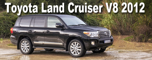 Toyota Land Cruiser Station Wagon 2012