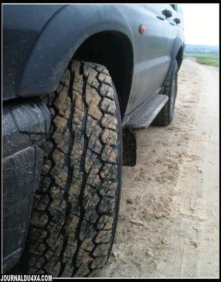 essai pneu mixte sur Discovery