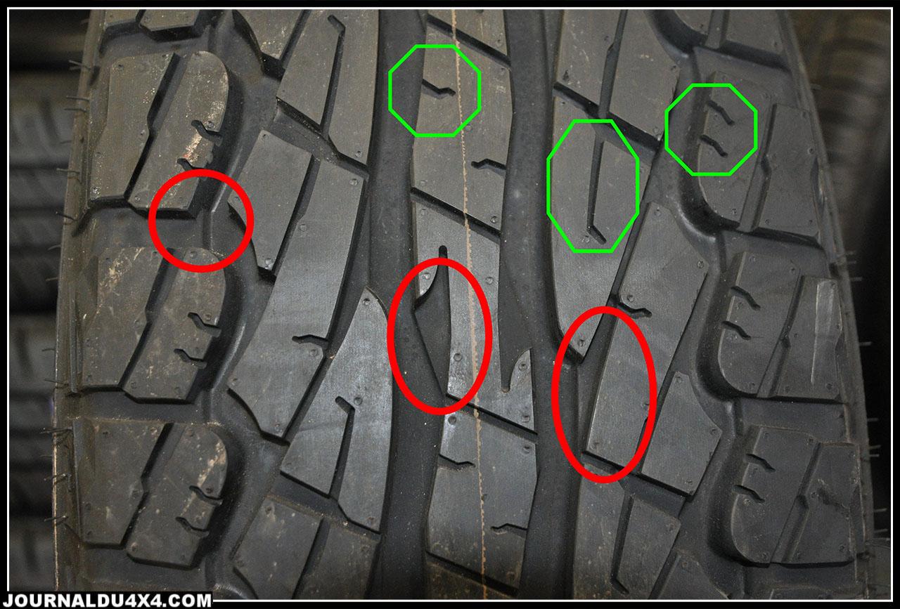 profil pneu mixte