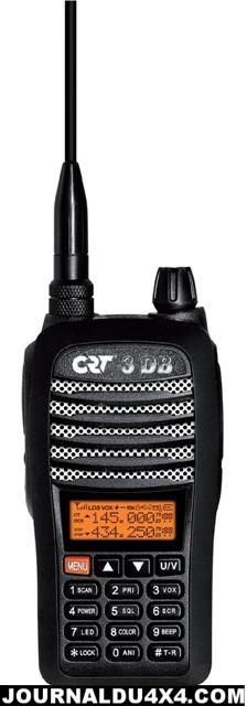vhf Portable Bi-Bande CRT 3DB