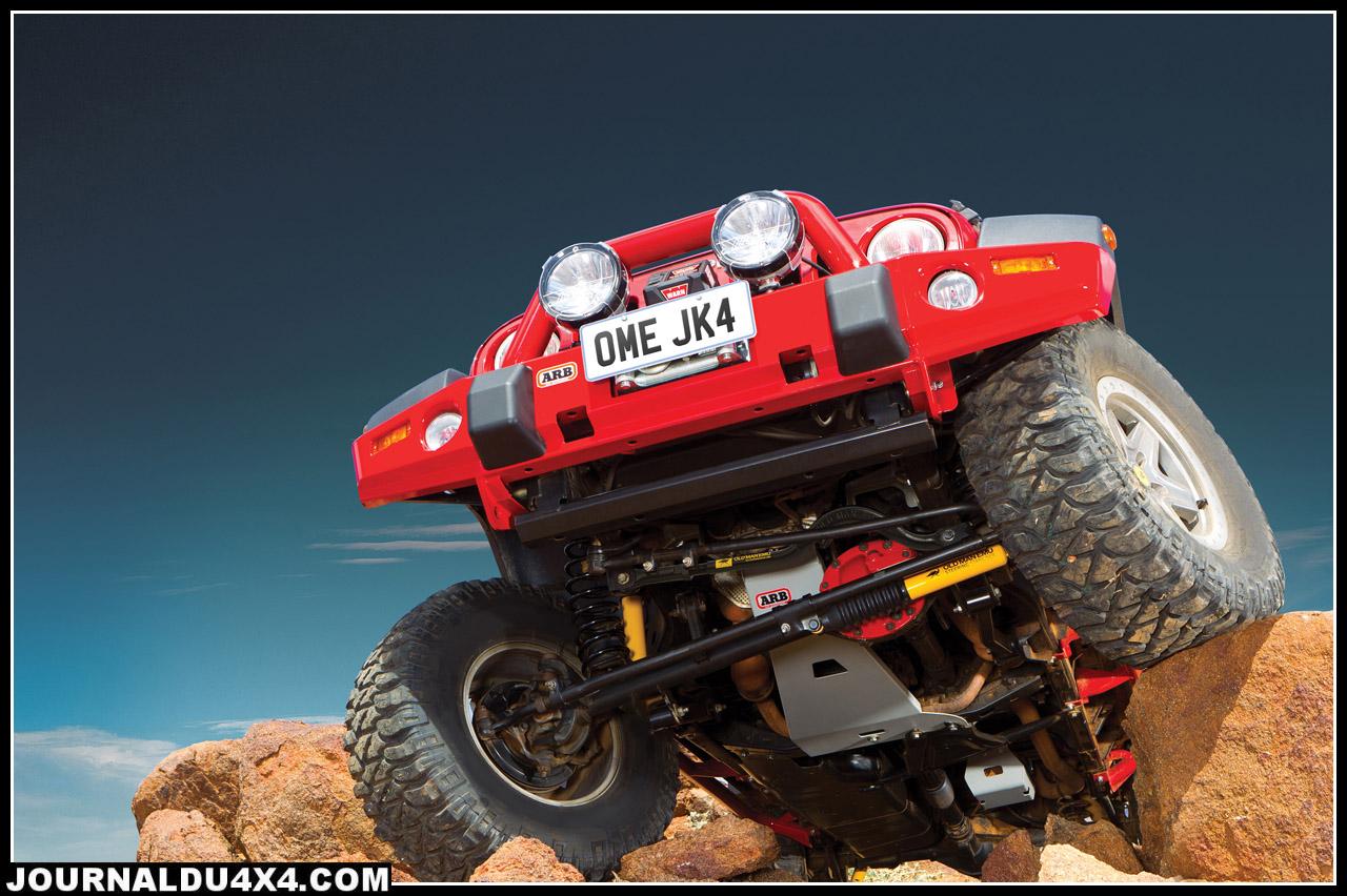 kit OME sur Jeep JK