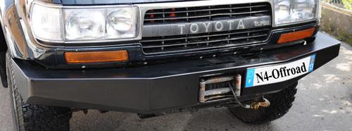 Pare-chocs acier Toyota HDJ80/HZJ80