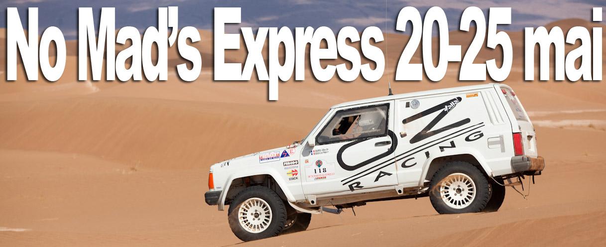 No Mad's Express du 20 au 25 mai 2012