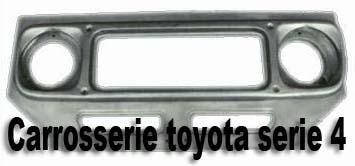 Carrosserie Toyota série 4