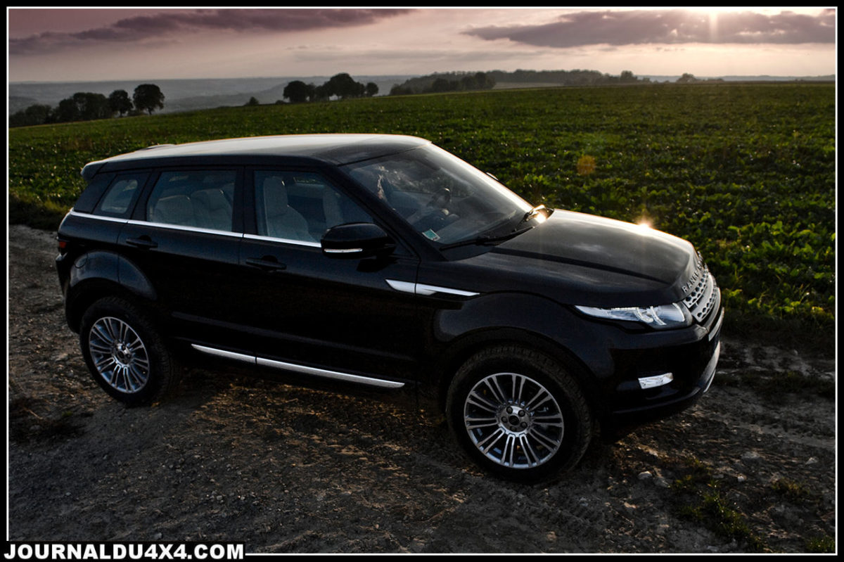 Essai Evoque Range Rover