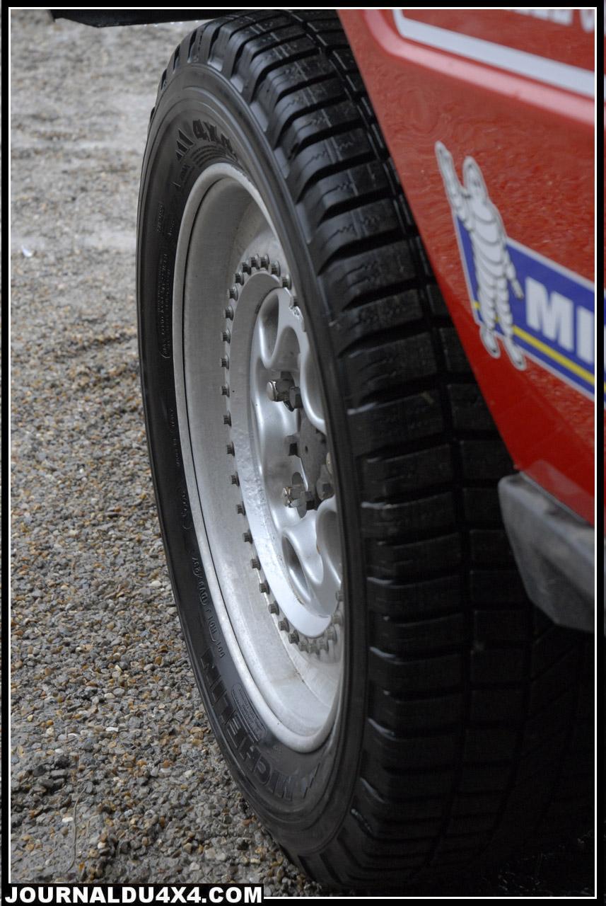 Fagix montées en Michelin XPC 255/ 55 x18