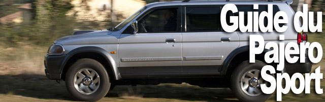 Mitsubishi Pajero Sport 3,0L V6 et 2,5 L TDI : le guide