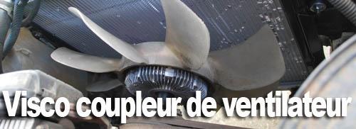Visco-coupleur de ventilateur