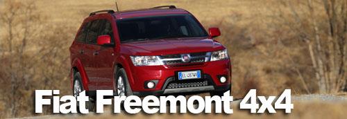 Freemont 4×4, le SUV de Fiat