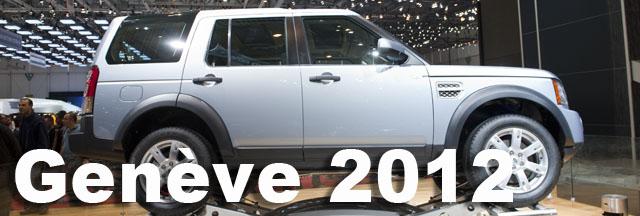 Salon auto geneve des SUV mais peu de 4×4