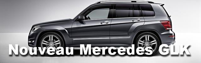 Nouveau GLK Mercedes 2012