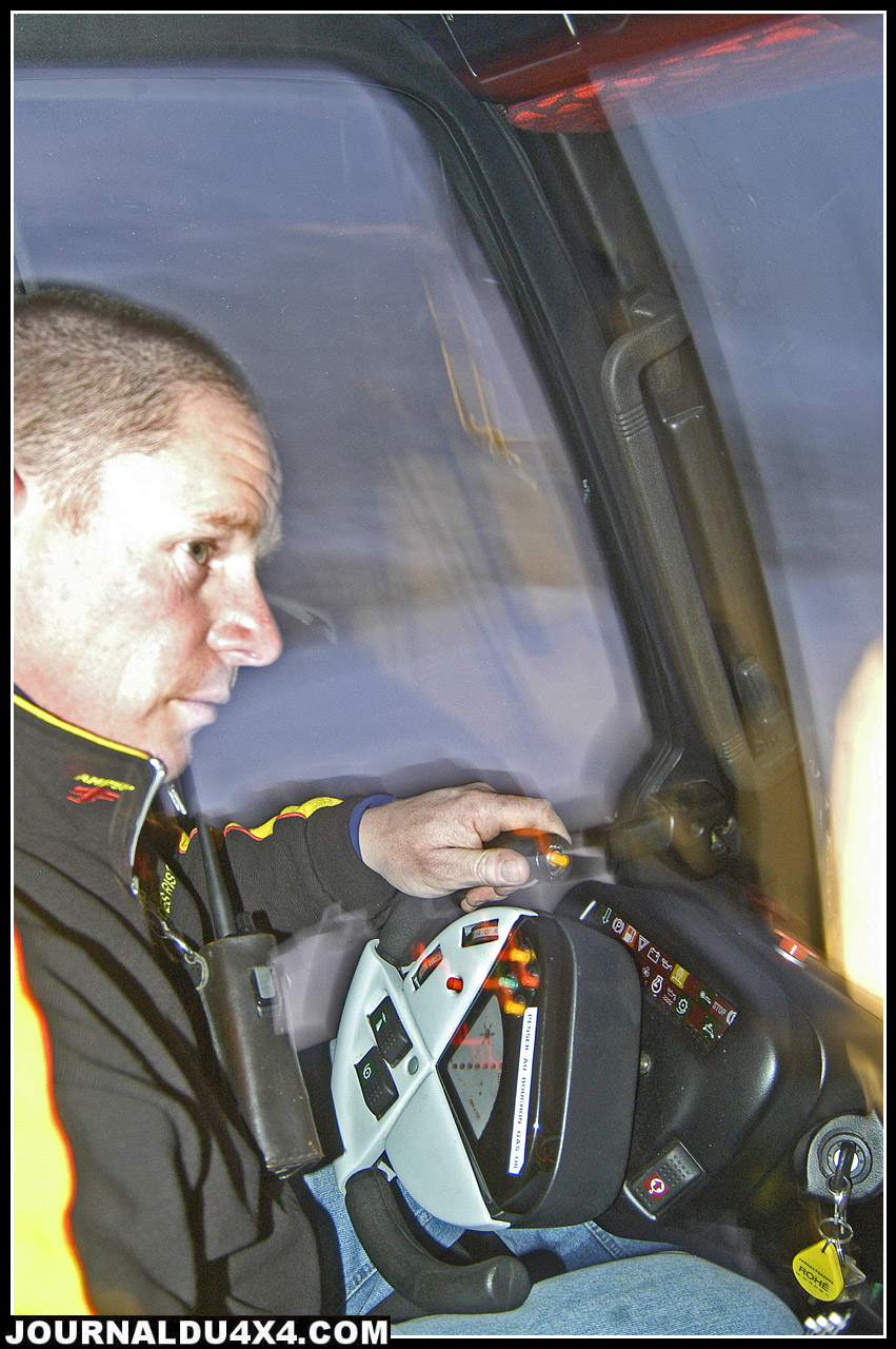 conducteur de dameuse