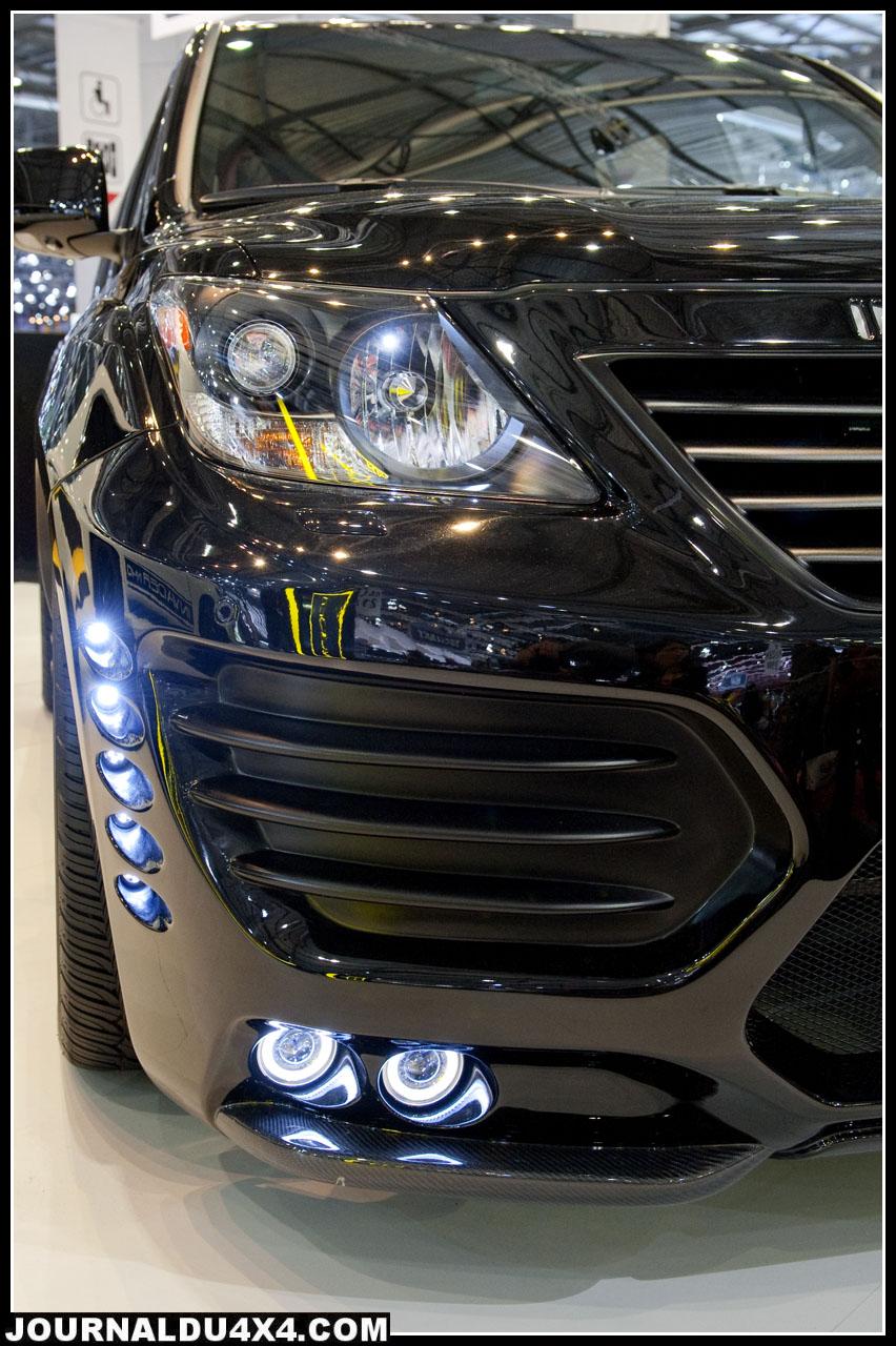 invader L60  lexus  5.7 V8 de 383ch à 600 ch