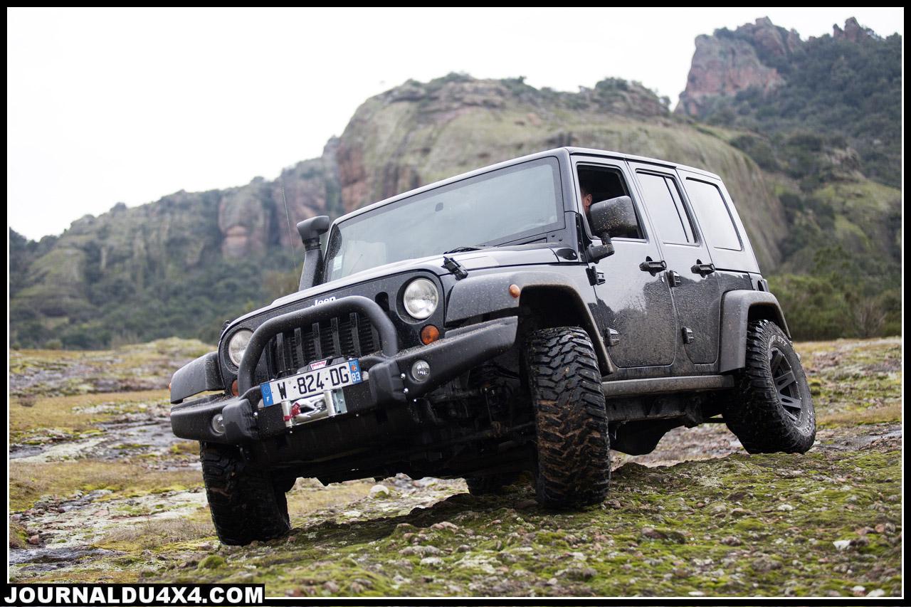jeep wrangler pr paration 4x4 autos loisirs. Black Bedroom Furniture Sets. Home Design Ideas