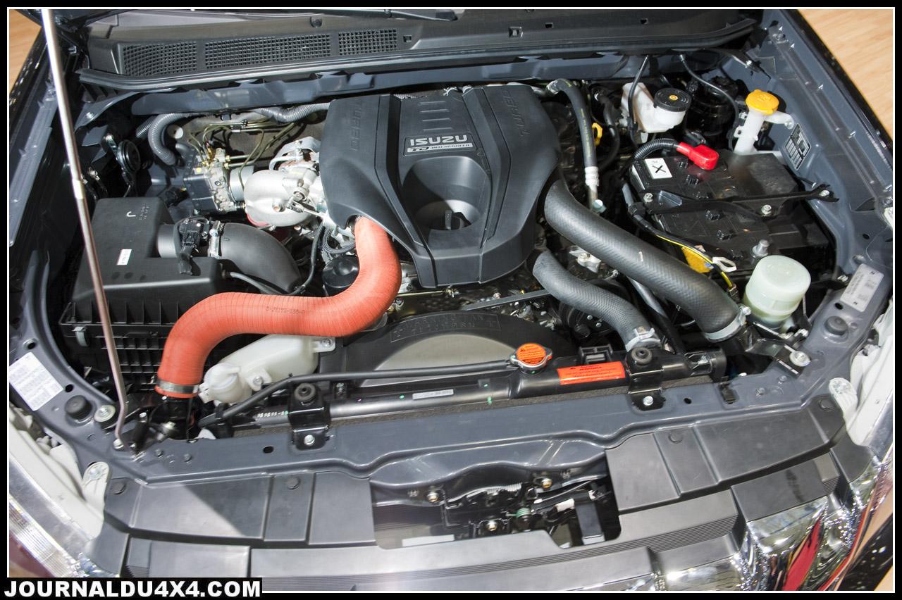 moteur nouveau d max plus puissant 163 Cv