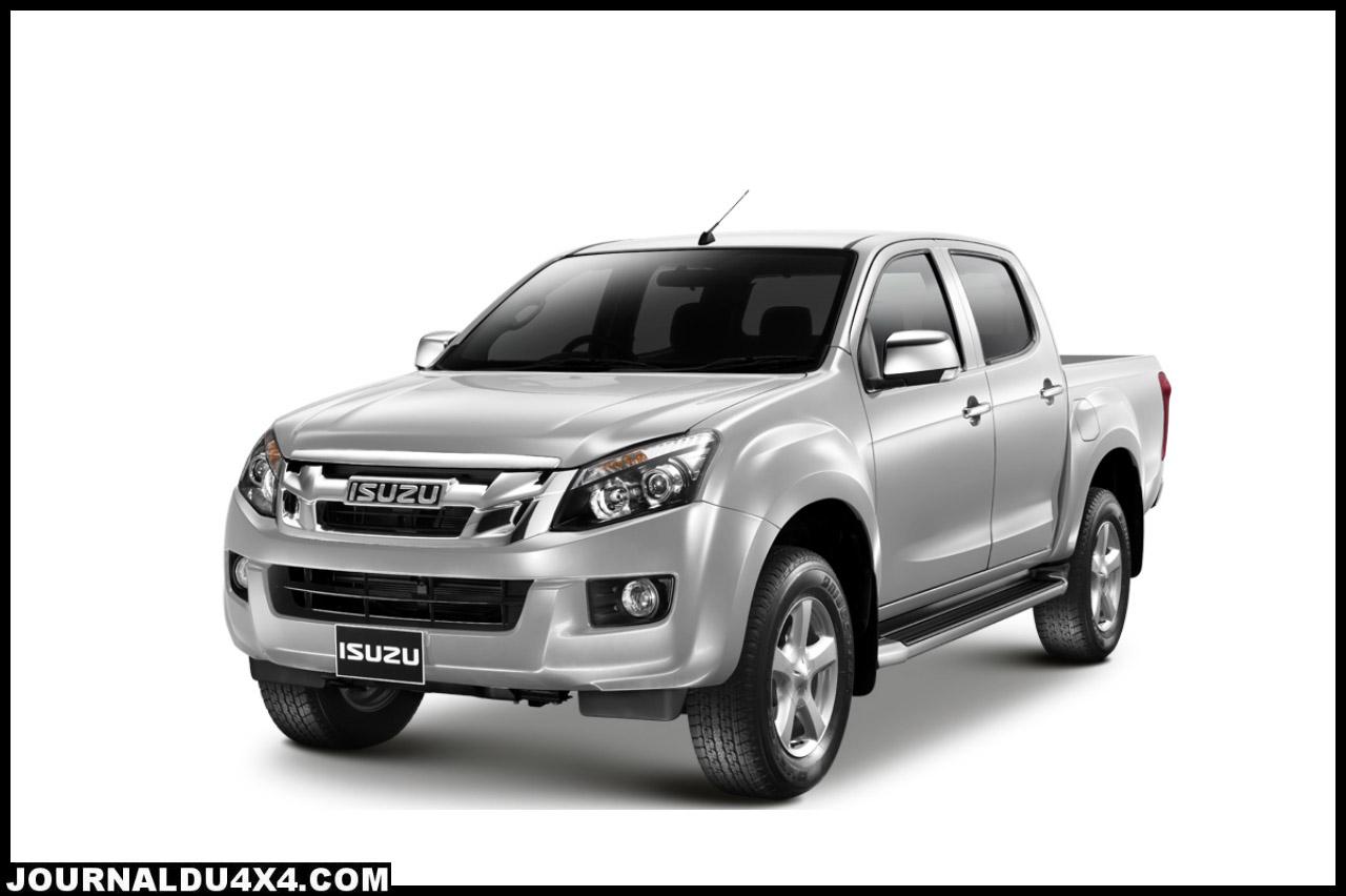 Nouveau pick up dmax, nouvelle ligne pour 2012