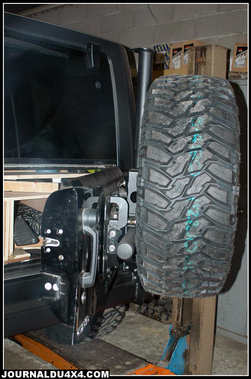 porte roue pour jeep