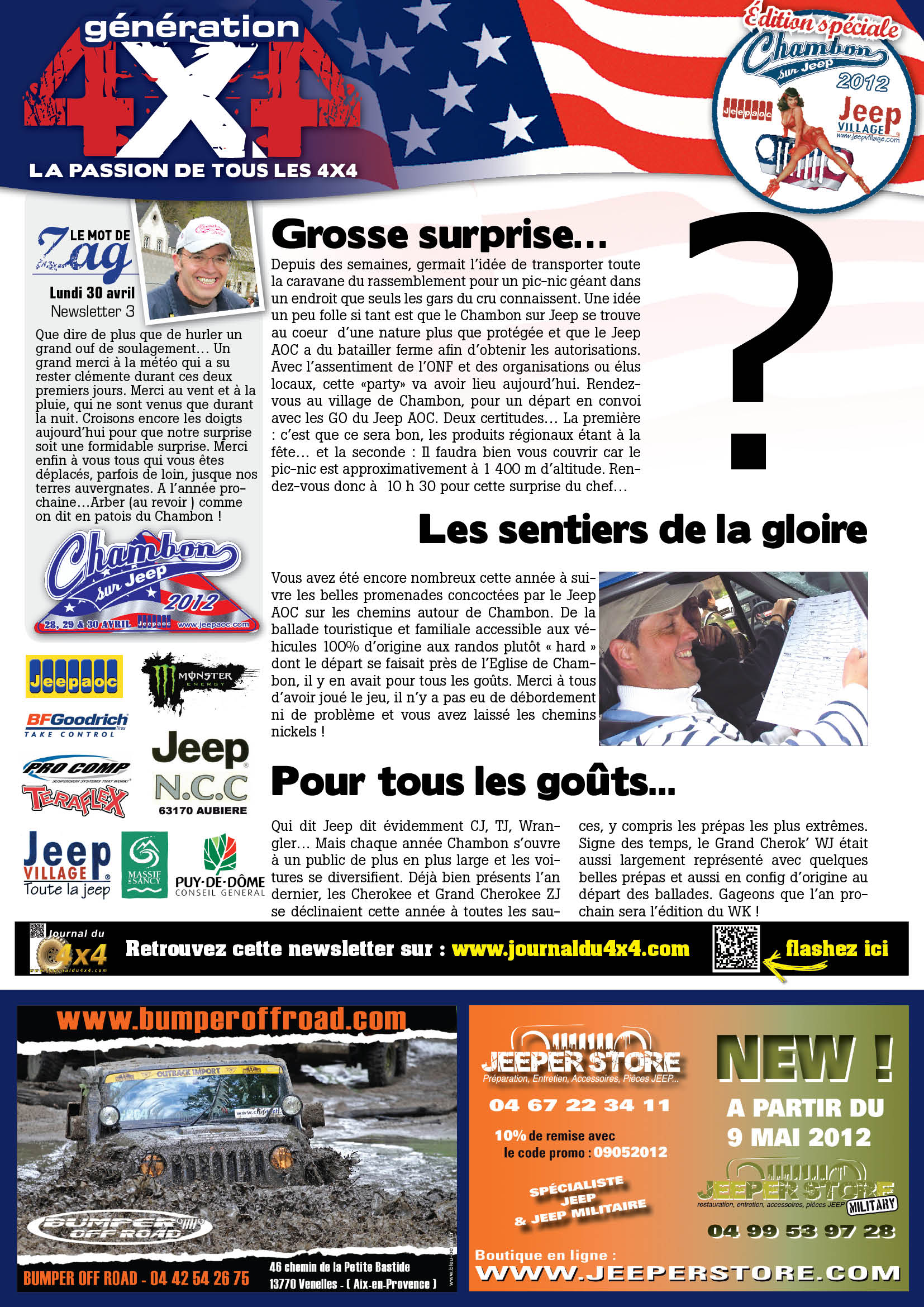 Newsletter Chambon 2012 #3 page 1