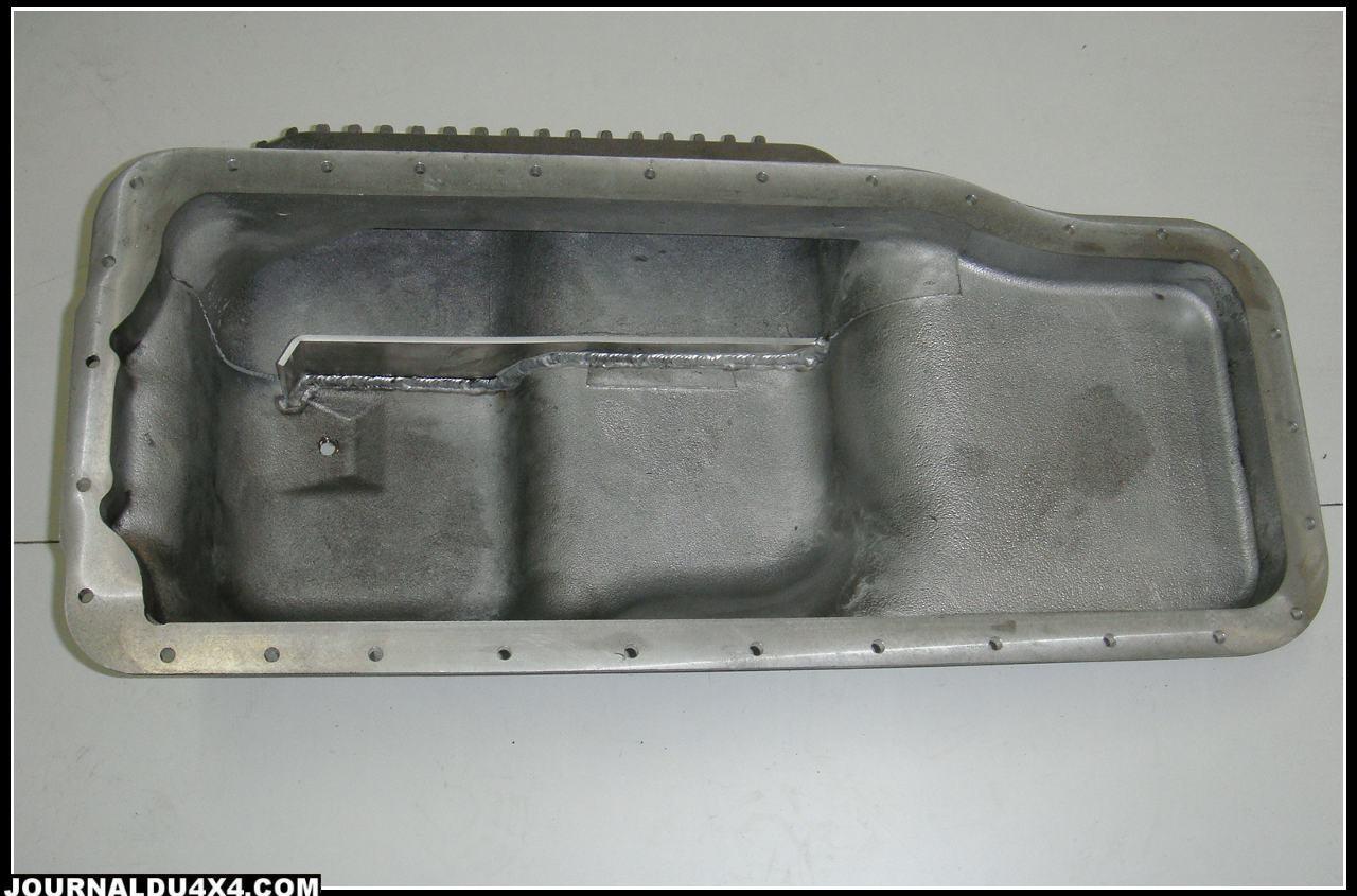 Carter d'huile Toyota  HZJ 73-75-78 équipé de kit turbo