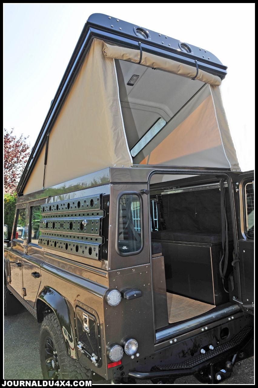 Les fameux toit Ex-tec proposés par RR Concept offrent une qualité produit qui a fait son succès. Au choix, avec ou sans siège à l'arrière, la modularité reste exceptionnelle.