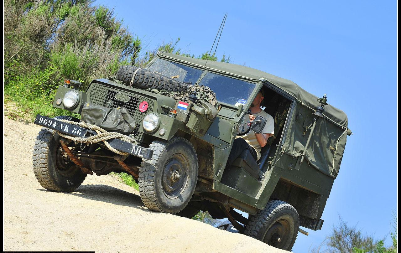 Le baroudeur militaire Serie III Commando était en revanche très présent.
