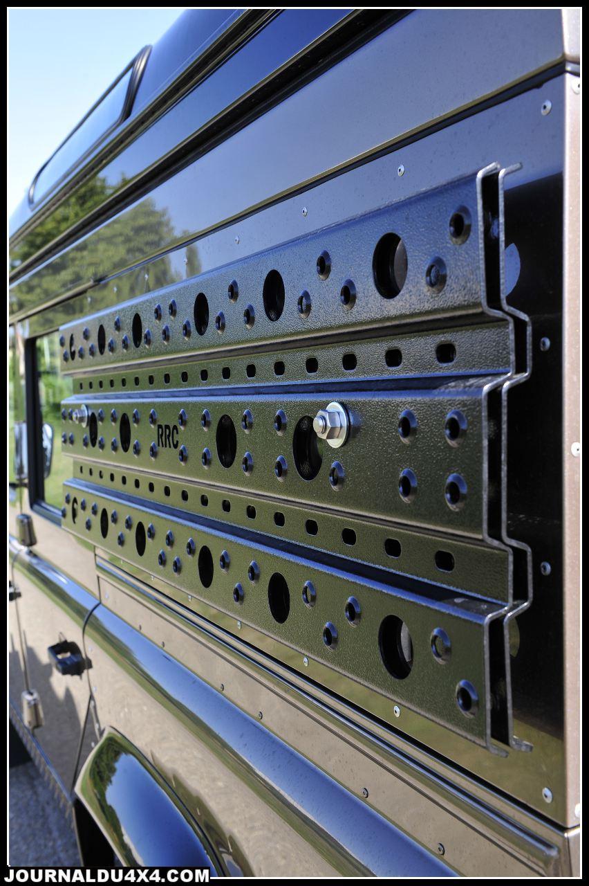 RR Concept a développé ses propres plaques sable. Du solide en aluminium 6 mm plié/ percé.
