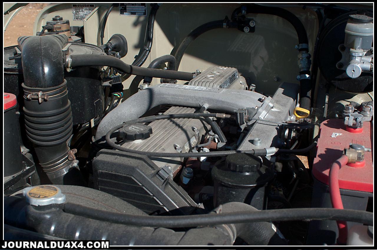 hdj 80 engine 6 cylinders in line 4,2 L