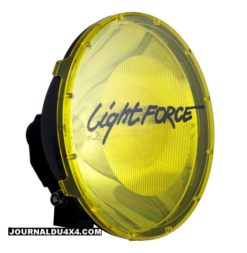 Lightforce 240 Blitz  avec filtre jaune