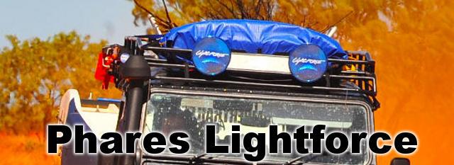 Phares LightForce chez Outback Import