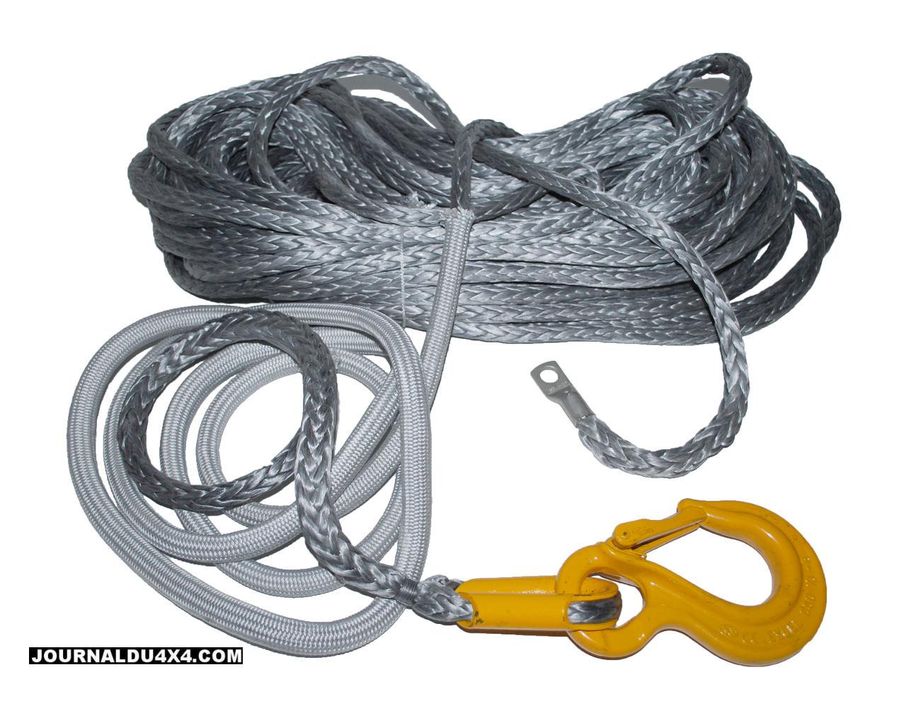 Câbles de treuil en corde Dyneema