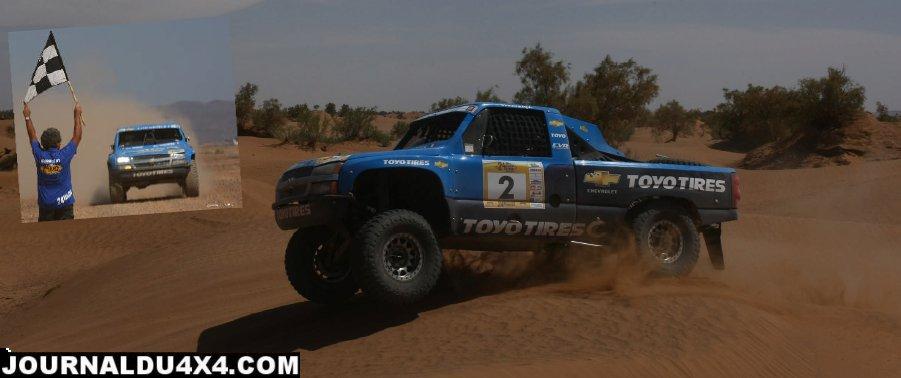 Eric Vigouroux 1er au 24 heures TT du Maroc 2012