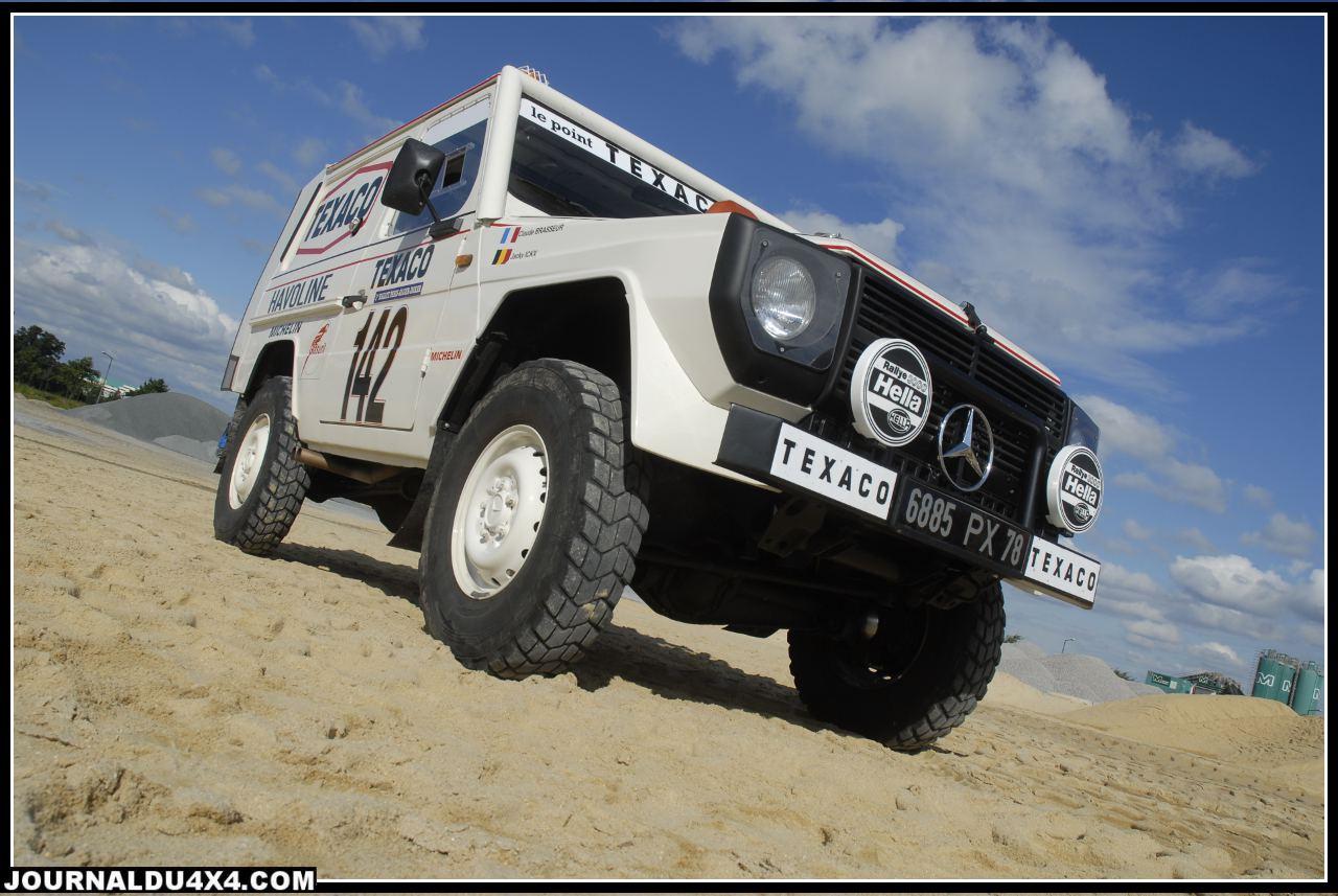 Mercedes G « Dakar 1983 Jacky Ickx et Claude Brasseur replica »