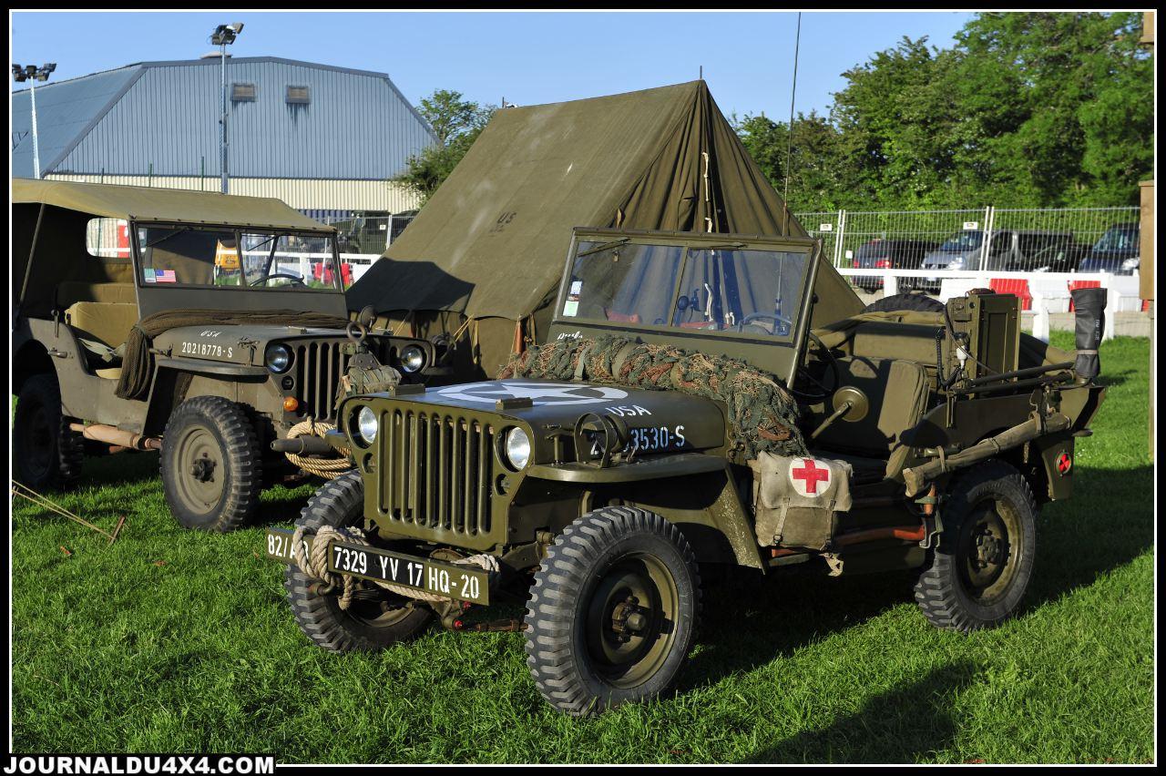 Parcourir les petits chemins de Normandie en Jeep, c'est vraiment remonter le temps.