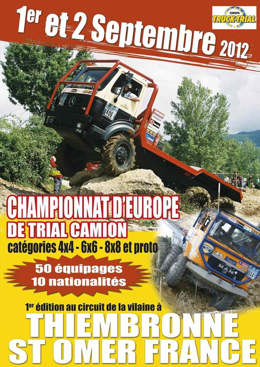 EUROPA TRUCK TRIAL 1° & 2 septembre 2012
