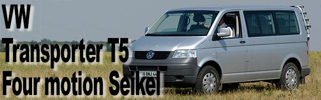 VW Transporter T5 Four motion Seikel.