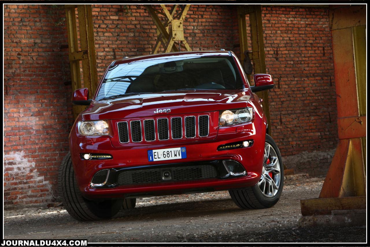 Jeep Grand Cherokee SRT V8