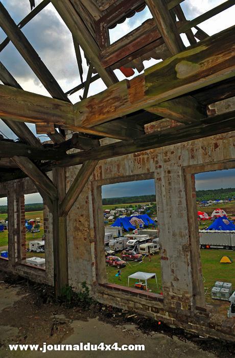 Grande nouveauté de ce Breslau 2012, c'est presque à regrets que la caravane du rallye quitte ce camp de Borne Solinowo parfaitement adapté à l'ampleur de l'épreuve.