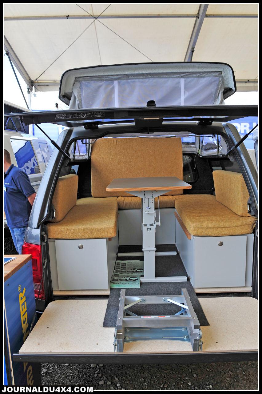 Au rayon de nouveaux produits pour aventurier à petit budget, Road Ranger distribué en France par Hubert Durand lance le Hard Top convivial. Une bonne idée bientôt disponible.
