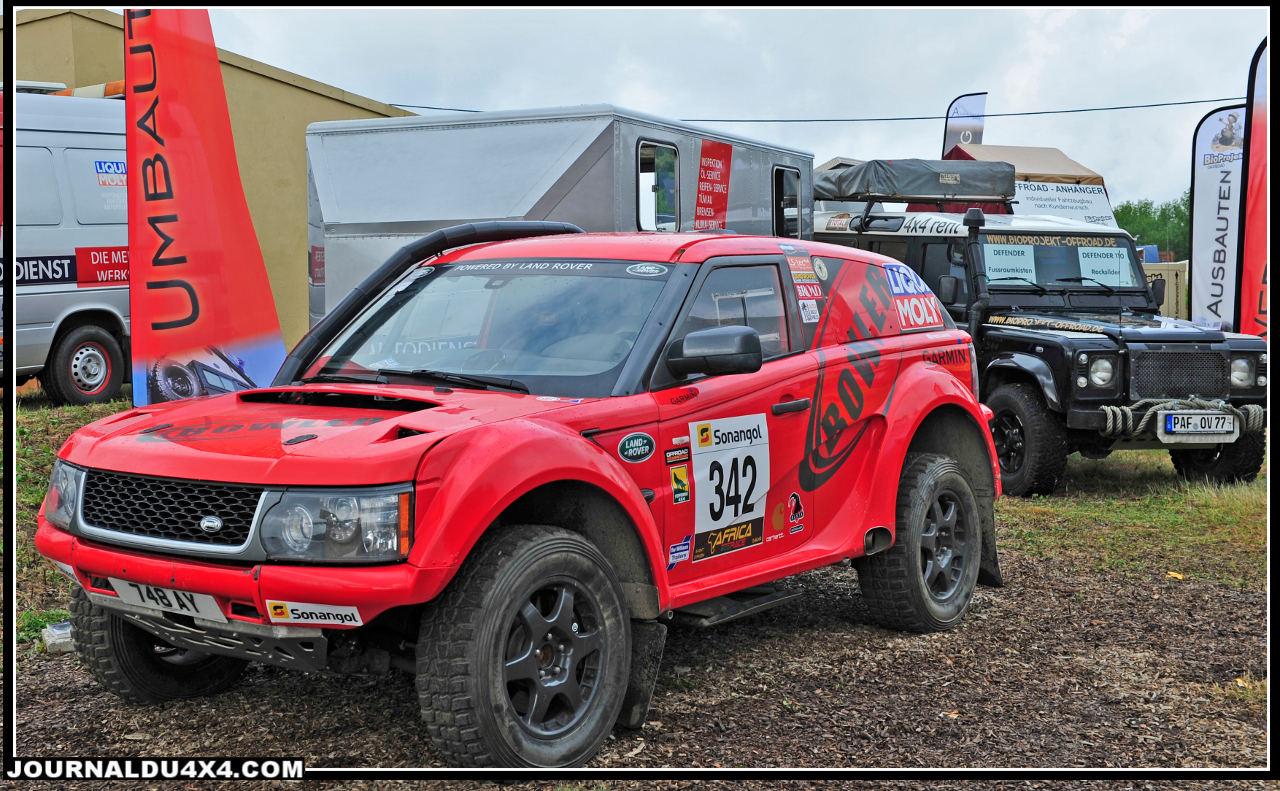 Le célèbre préparateur Anglais Bowler était présent par le biais de Robert Krantz de la société Rallywerk.