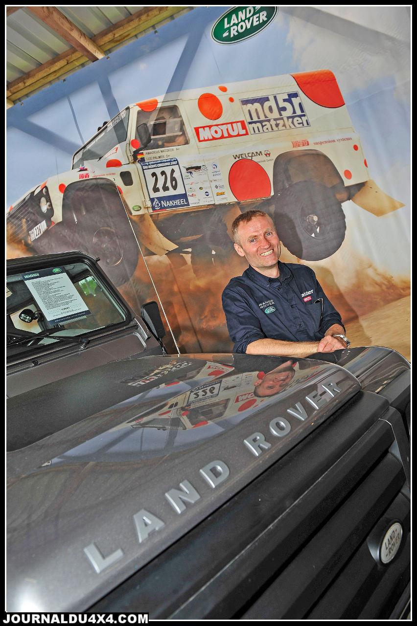Autre véritable mythe en Allemagne; Matzker. Les Land Rover  signés Amadeus Matzker sont de véritables références Outre Rhin. Les derniers Defender sont déjà équipés de cellules Maltec. Le Def grand luxe c'est ici; tarif, 79 800€.