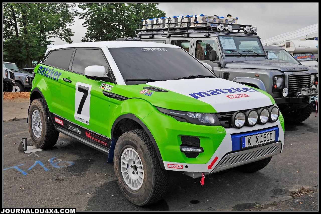 Fruit d'une étroite collaboration avec Land Rover Allemagne, voici l'Evoque Cross Country. Pas encore finalisé, il sera bien sur en exclusivité dans nos pages.