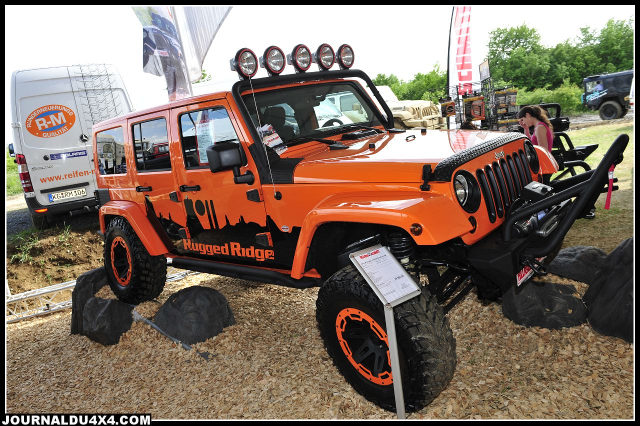 Allrad Schmitt est depuis des années l'un des spécialistes Jeep en Allemagne. Cette belle JK Unlimited préparée est proposée à 57 000€.