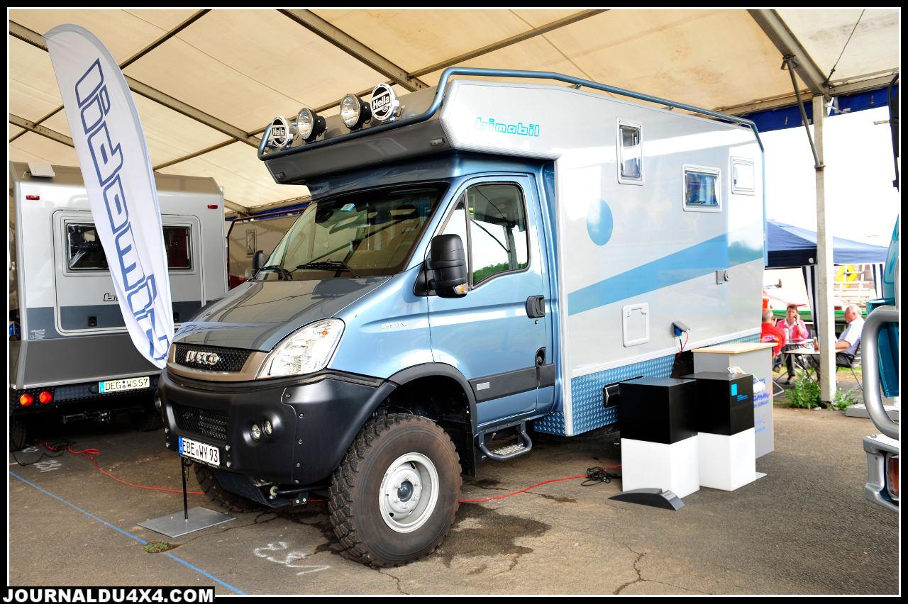 L'Iveco Daily est très en vogue. Pour cette version Bimobil à moteur 170 ch compter environ 140 000€.